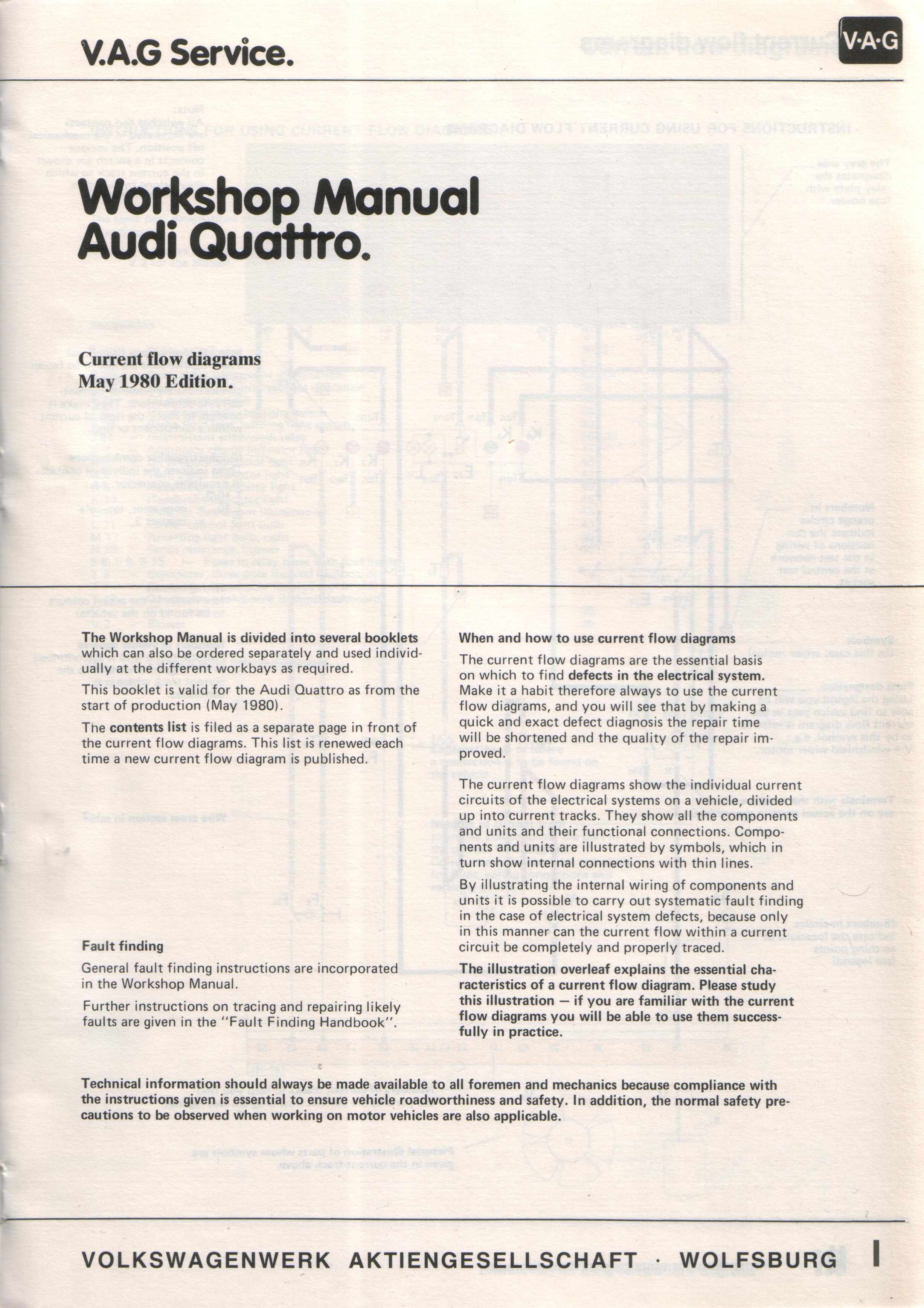 May 1980 audi quattro wiring diagrams asfbconference2016 Gallery
